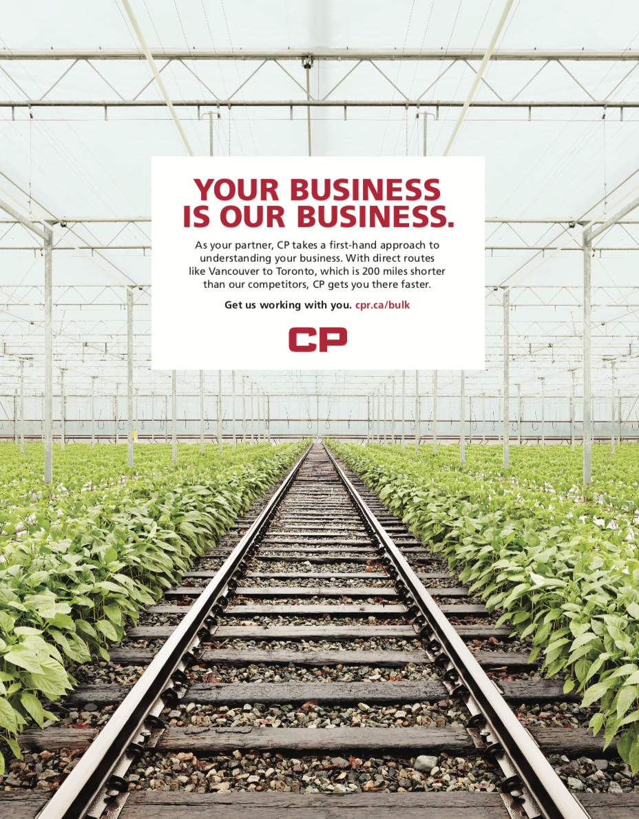 PRINT AD FROM CP'S LINE OF BUSINESS CAMPAIGN