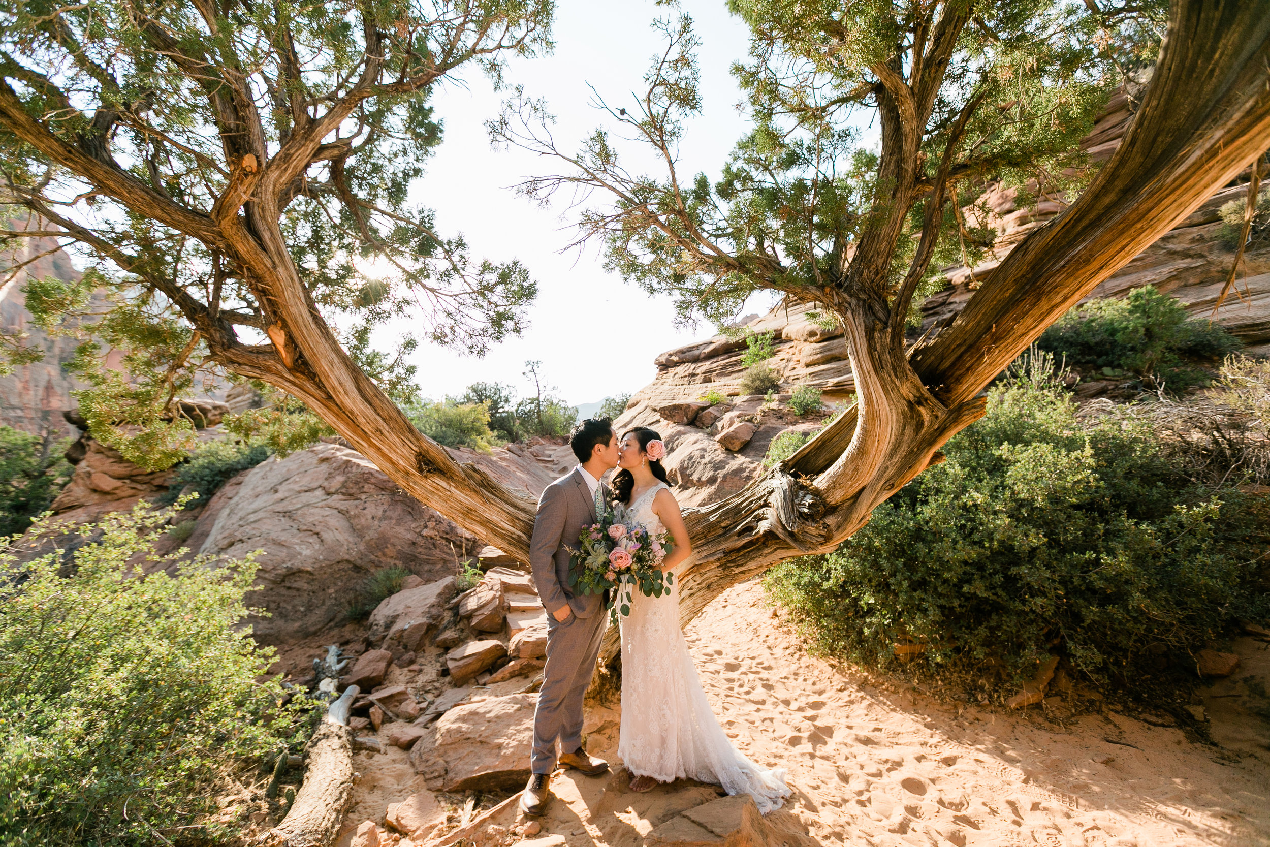 Zion Wedding Photographer