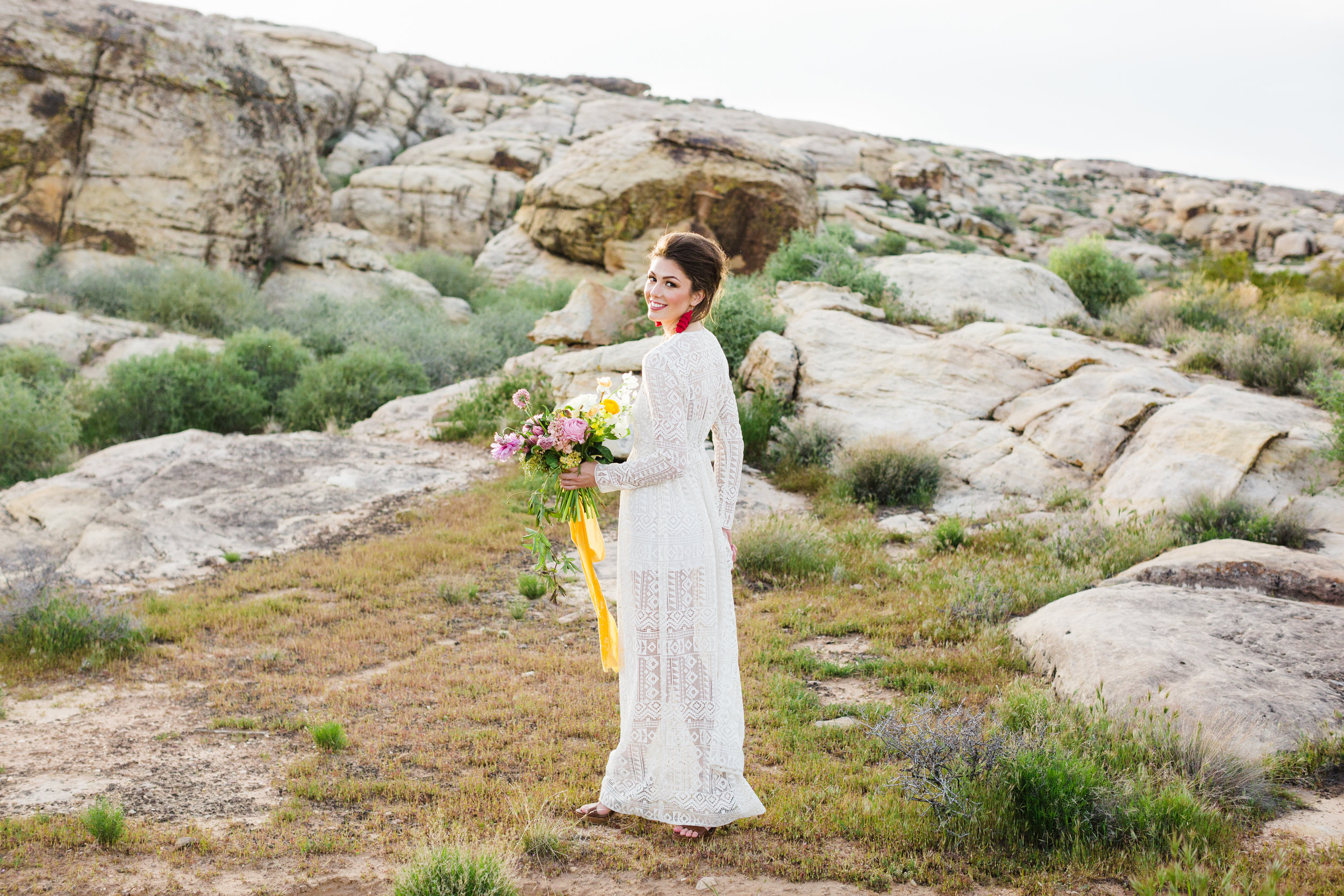 Desert Color Bride Southern Utah Wedding Photography