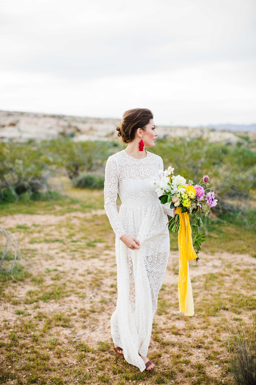 Desert Color Bride Southern Utah Wedding Photography