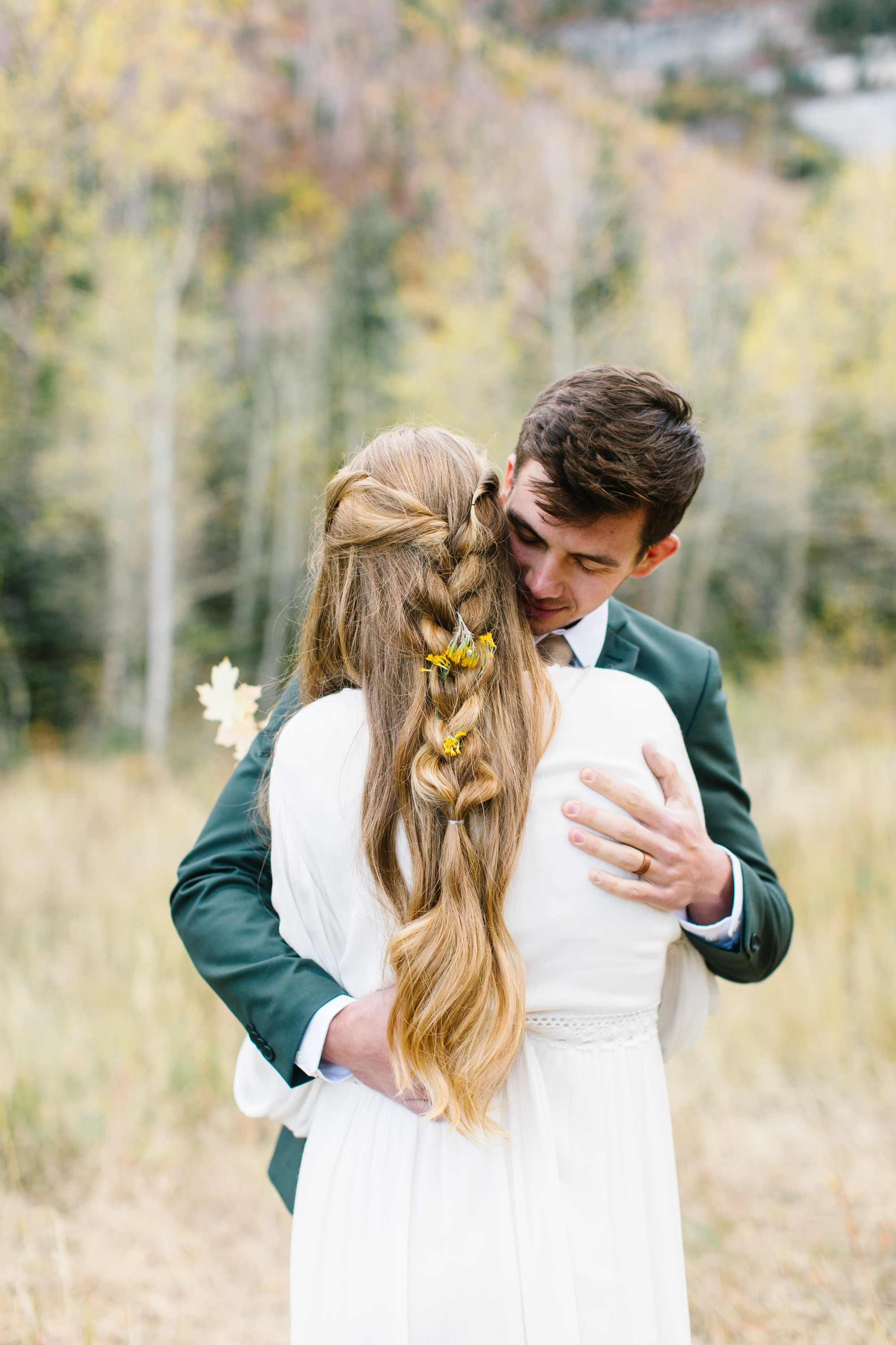 Southern Utah wedding photographer first look
