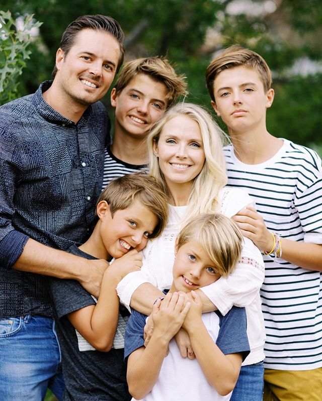 I loved photographing this beautiful family. They were so much fun to be around and these boys definitely kept me laughing! @gideonphoto