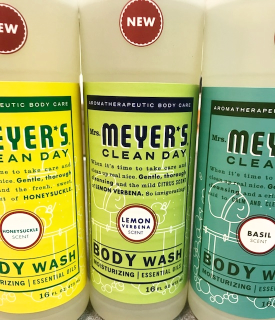 Mrs. Meyer's Body Wash