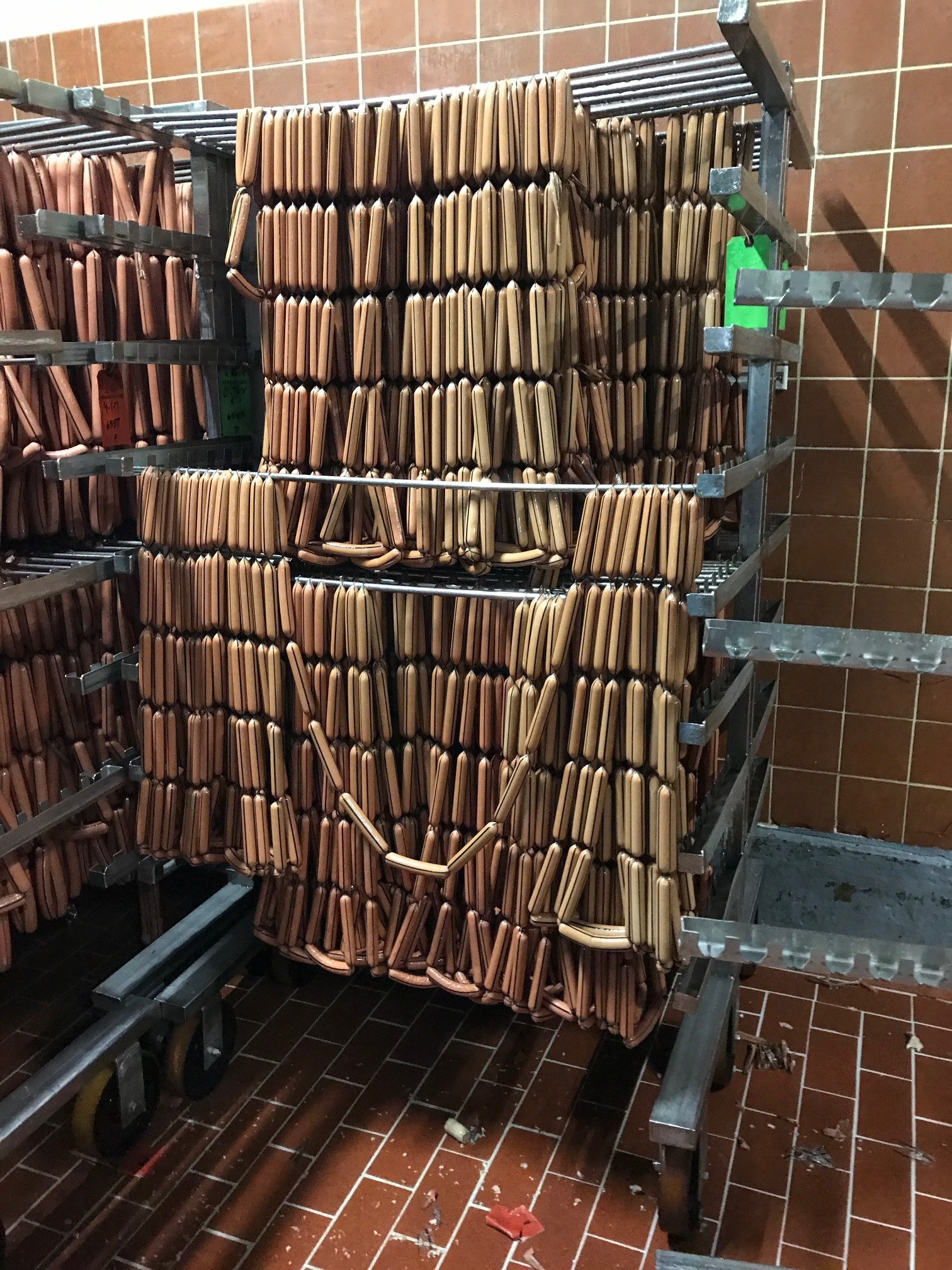 A very small fraction of Dietz's daily hot dog production.