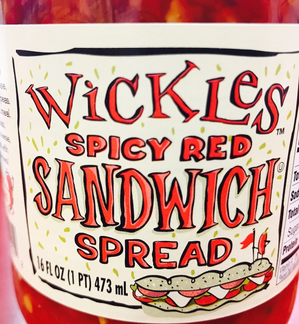 Wickles Spicy Sandwich Spread