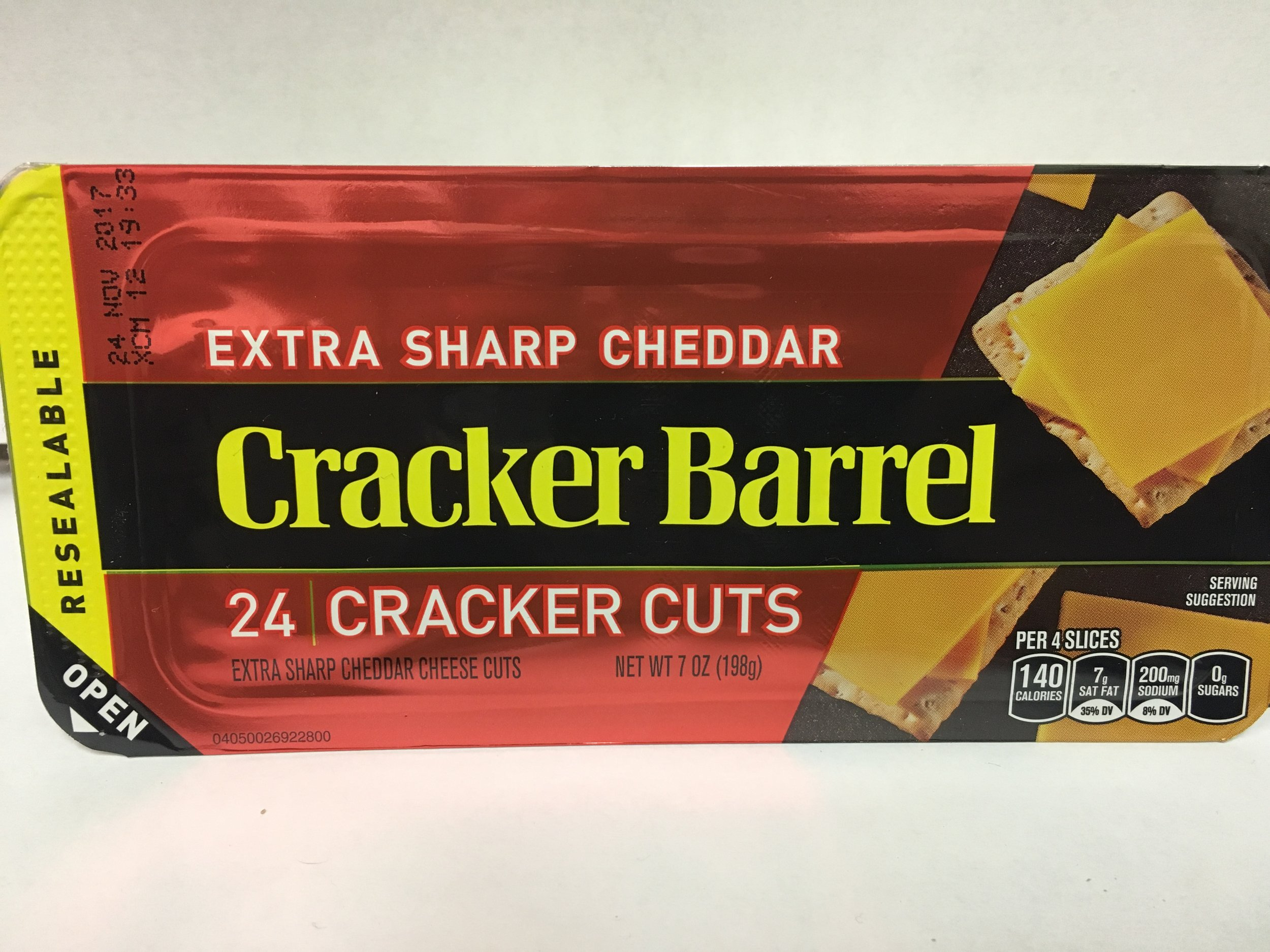 Cracker Barrel Cracker Cuts