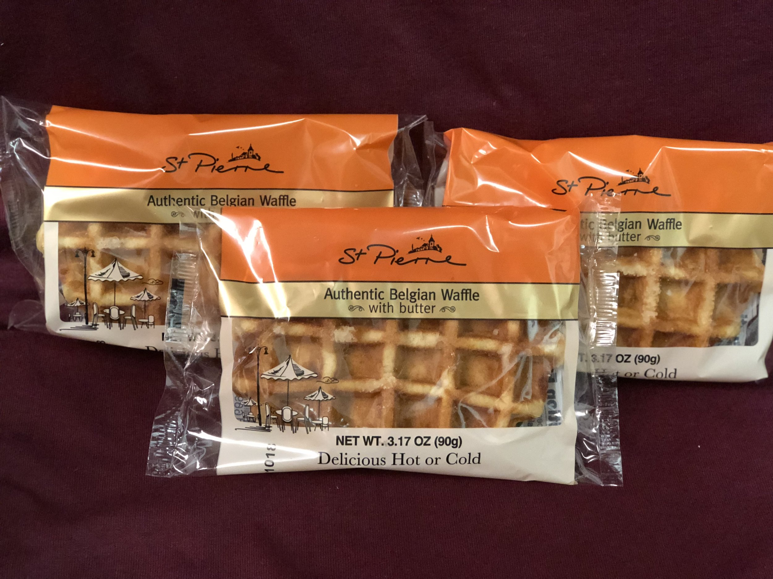 St. Pierre Belgian Single Waffles