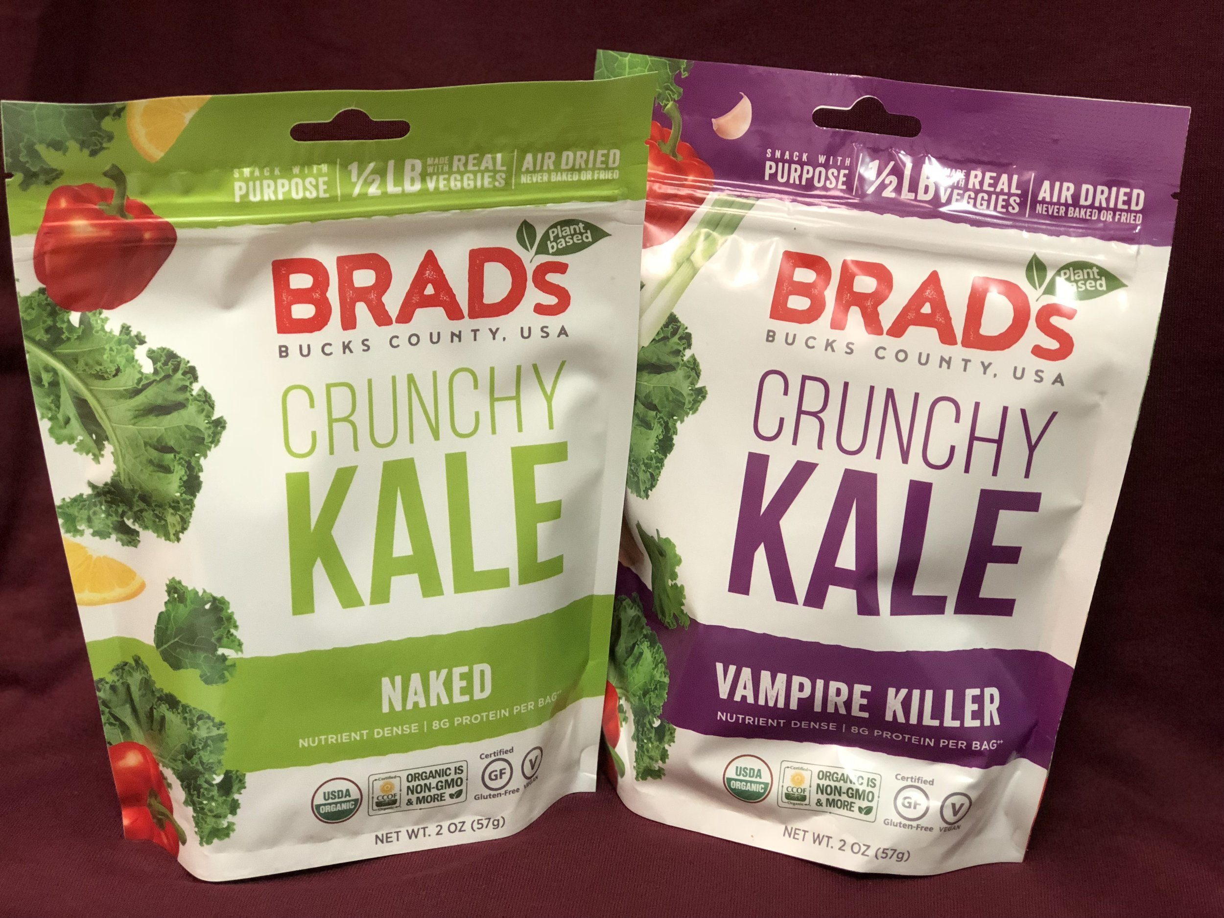 Brad's Kale Snacks