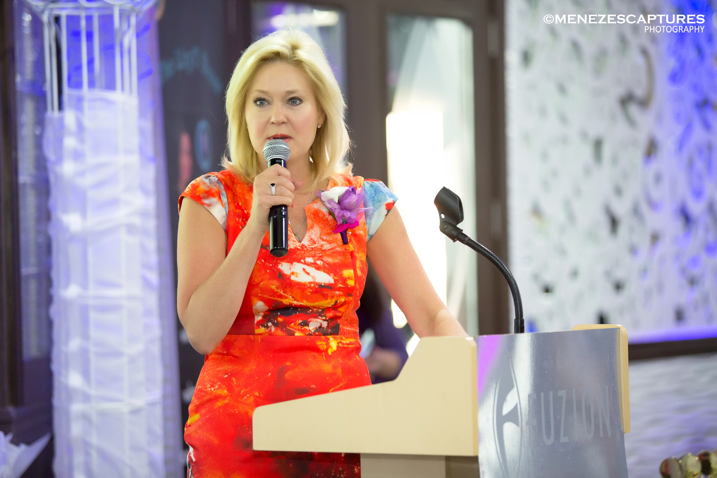 Mayor Bonnie Crombie addresses guests at the 2016 AFW event