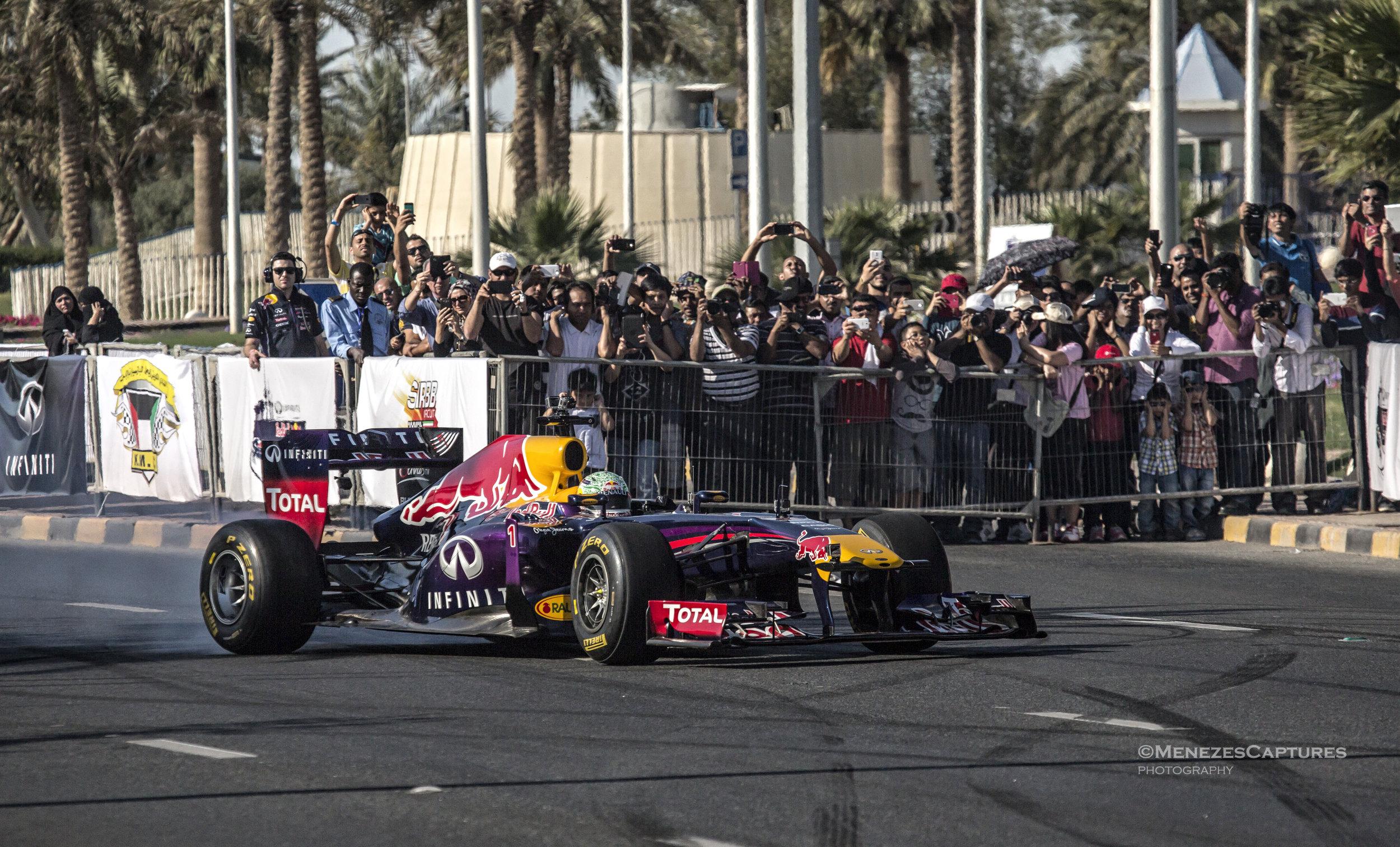 Redbull F1 Showrun, Kuwait (2013)