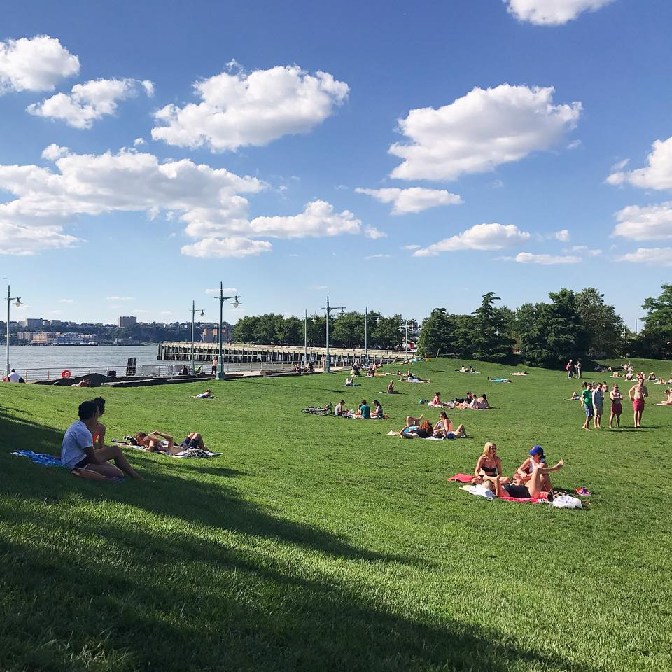 """Sundays at the Chelsea Lawn Bowl can't be beat."" Source:  Hudson River Park Conservancy's Facebook Page"