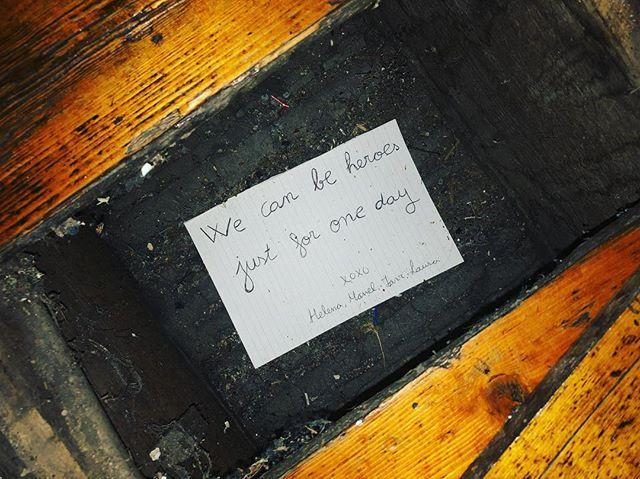 Hidden messages....