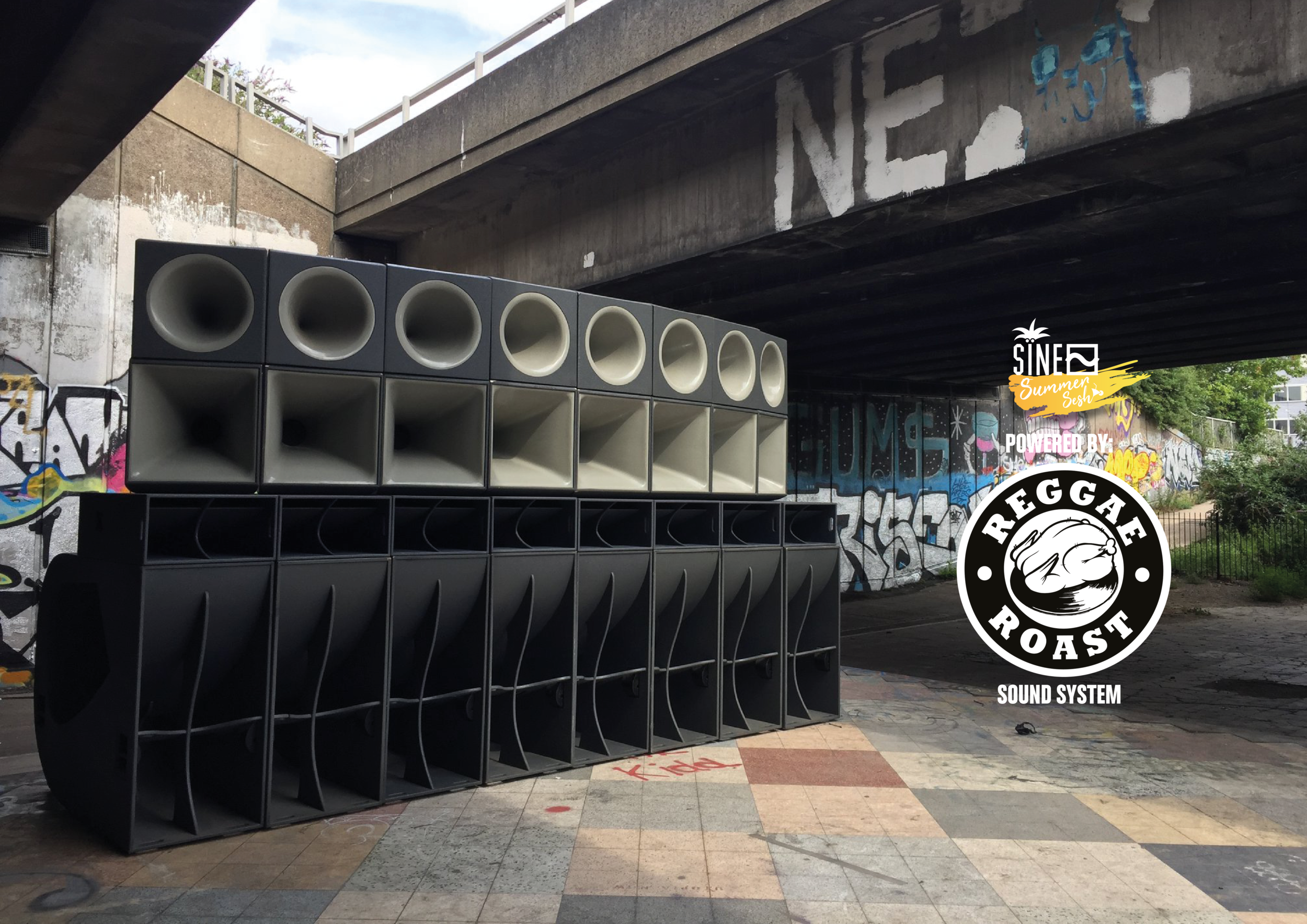 The Reggae Roast Sound System will be powering out summer rave at STYX London on 2nd June. Click  HERE  for more info.
