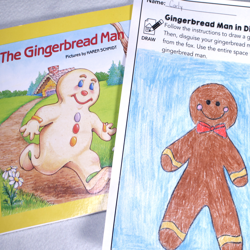 Disguise a Gingerbread Man STEM
