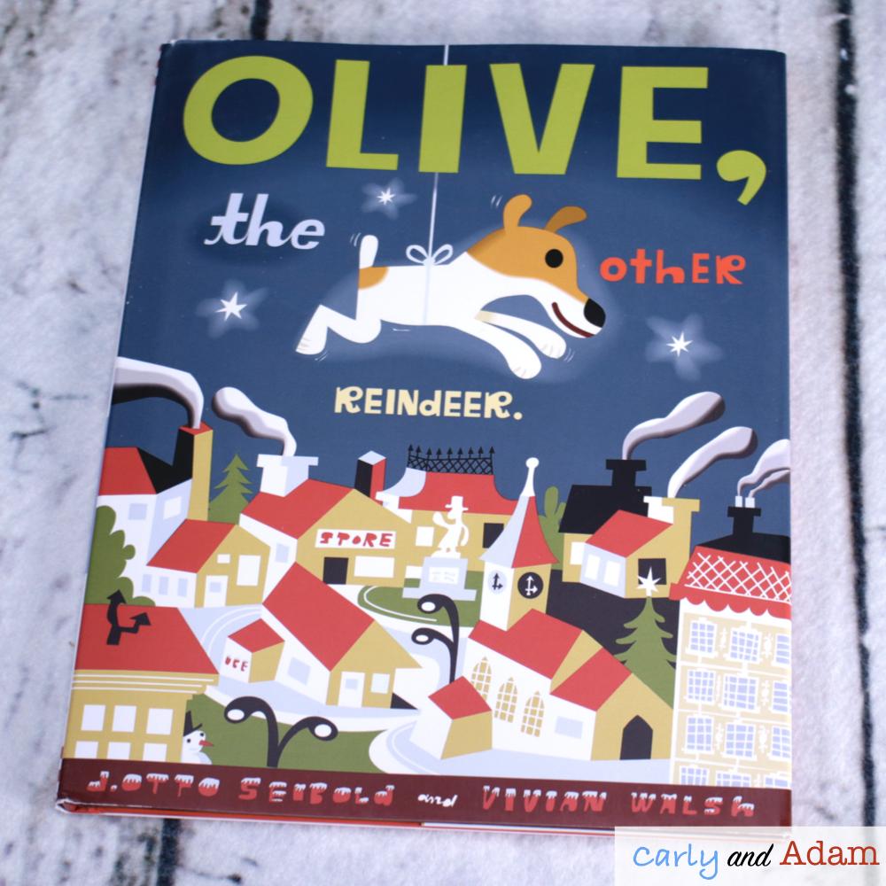 Olive the Other Reindeer STEM Challenge