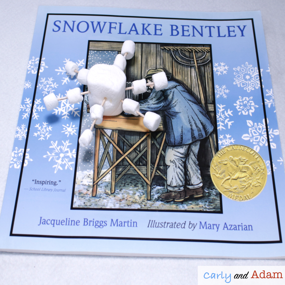 Snowflake Bentley STEM Activity (Build a Snowflake)