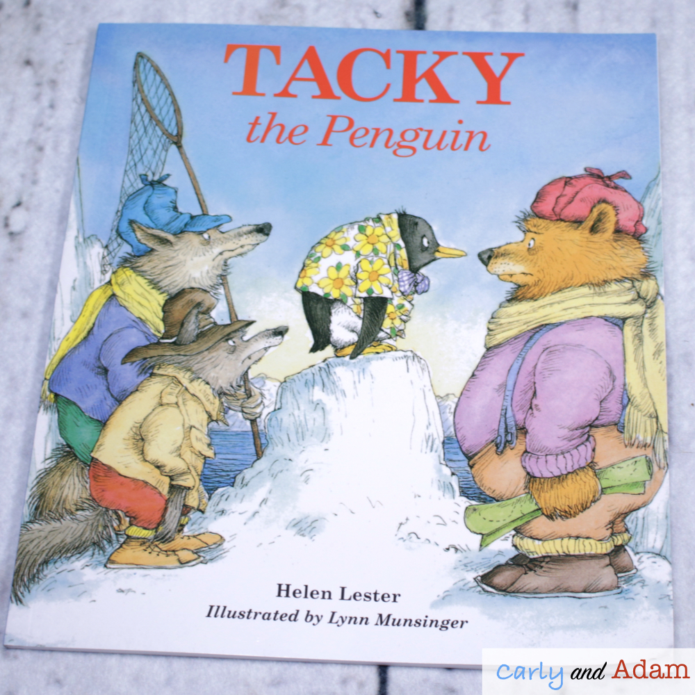 Tacky the Penguin Disguise a Penguin STEM