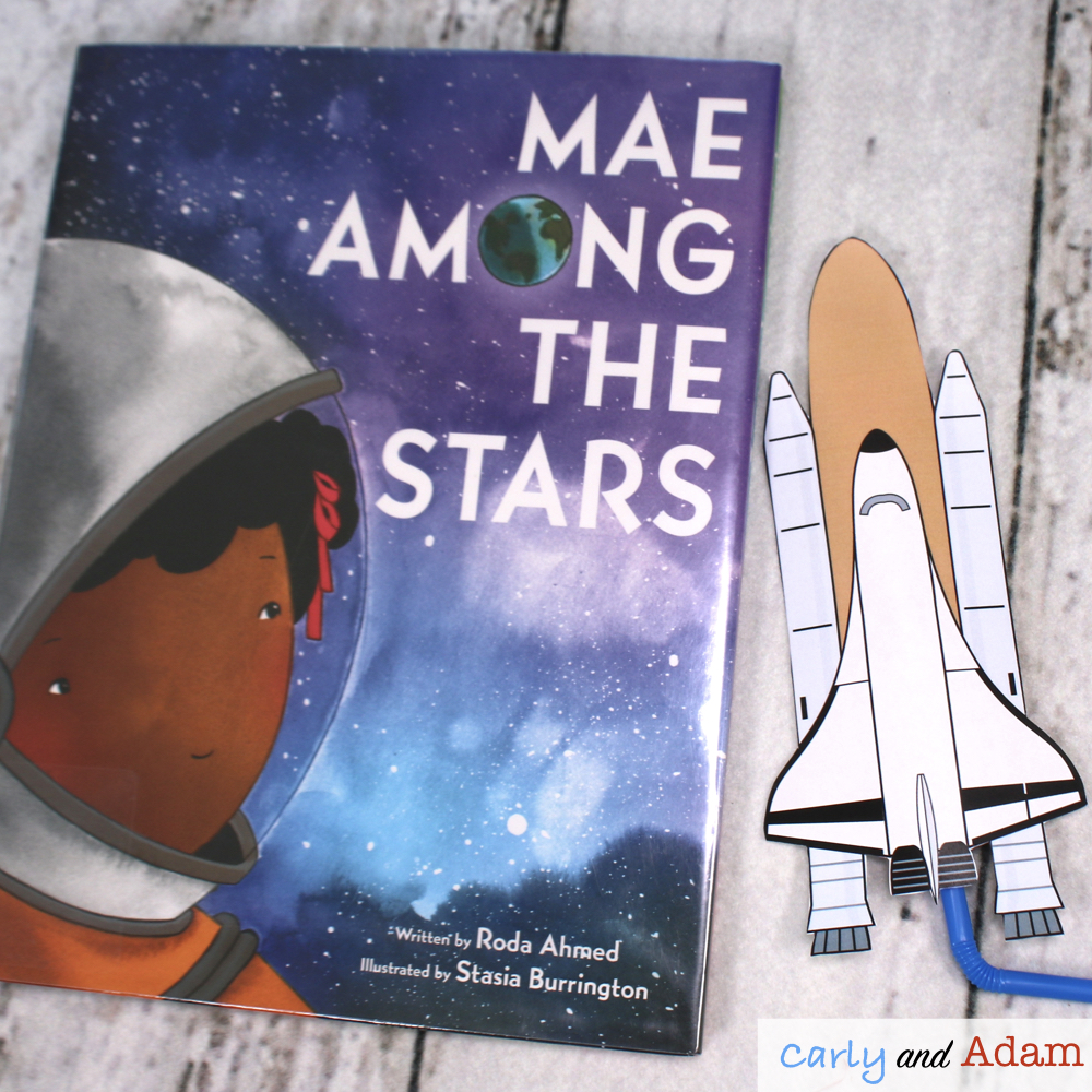 Mae Among the Stars Mae Jemison Rocket Launcher STEM Challenge