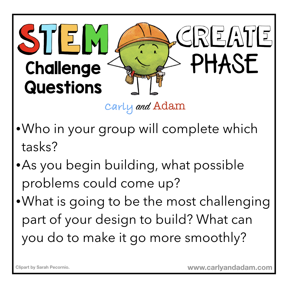 STEM Questioning Strategies Create Phase