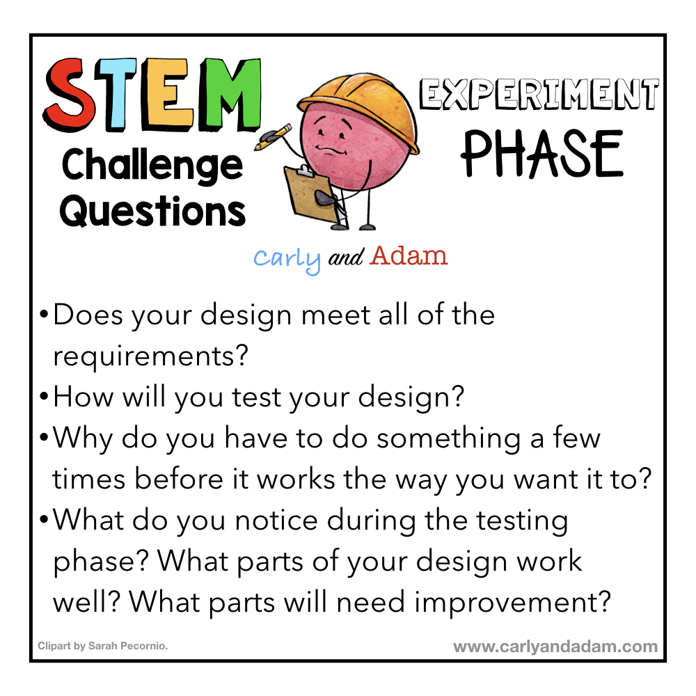 STEM Questioning Strategies Experiment Phase