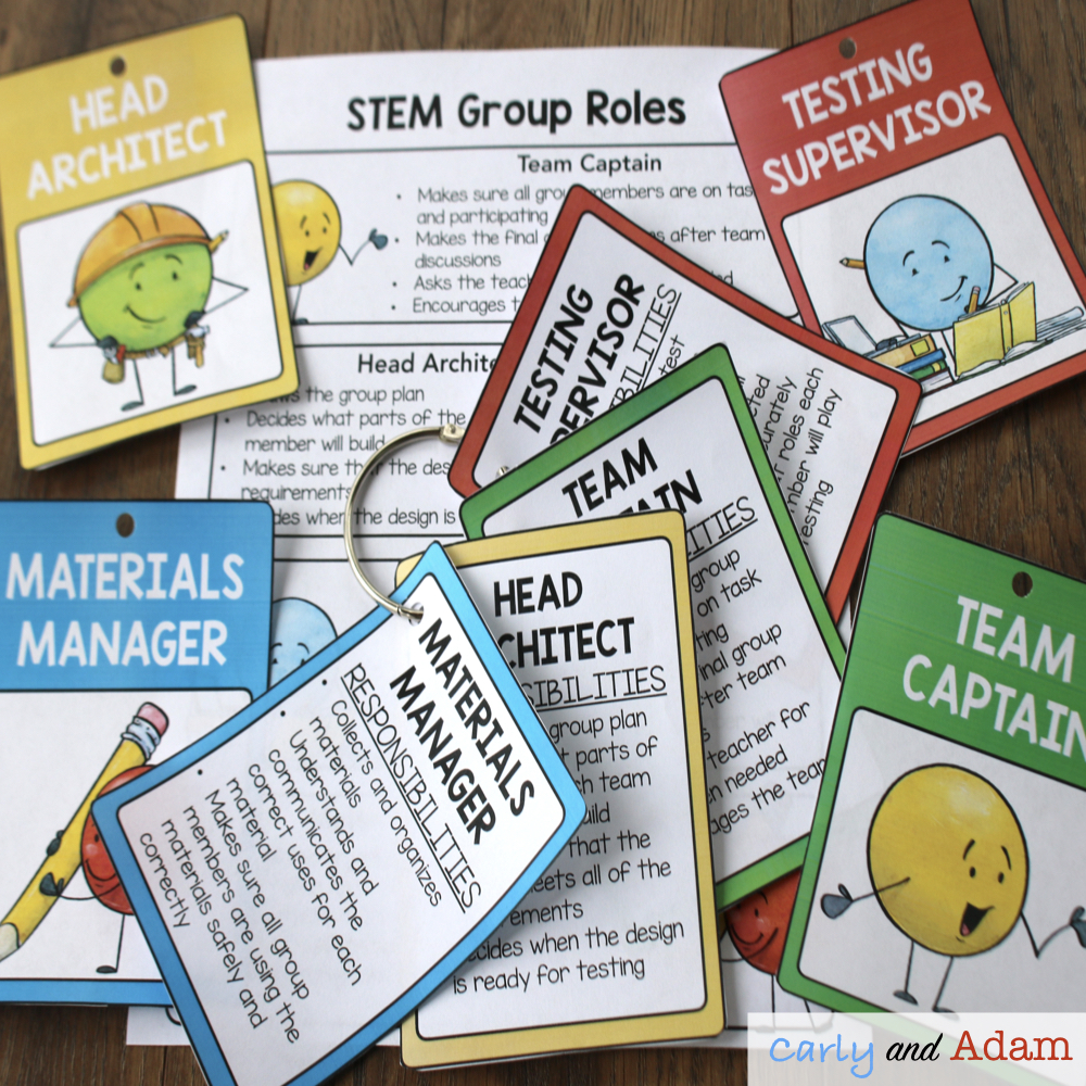STEM Challenge Group Roles