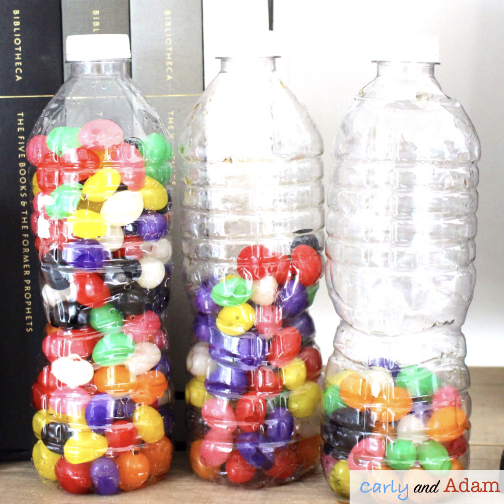 Jelly Bean Bottle Flipping