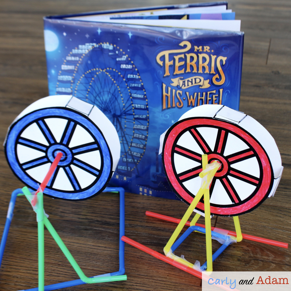Mr. Ferris and His Wheel (Build a Ferris Wheel STEM Challenge)