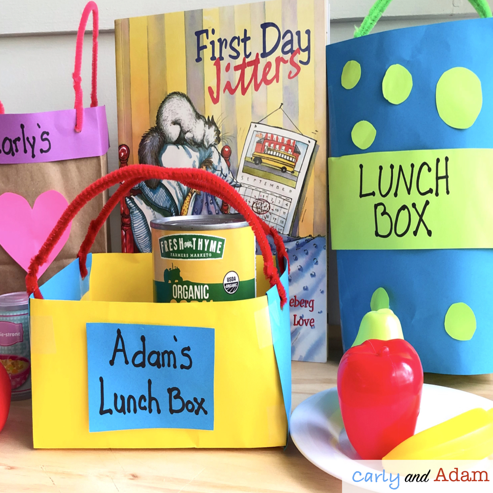First Day Jitters Build a Lunchbox STEM Challenge