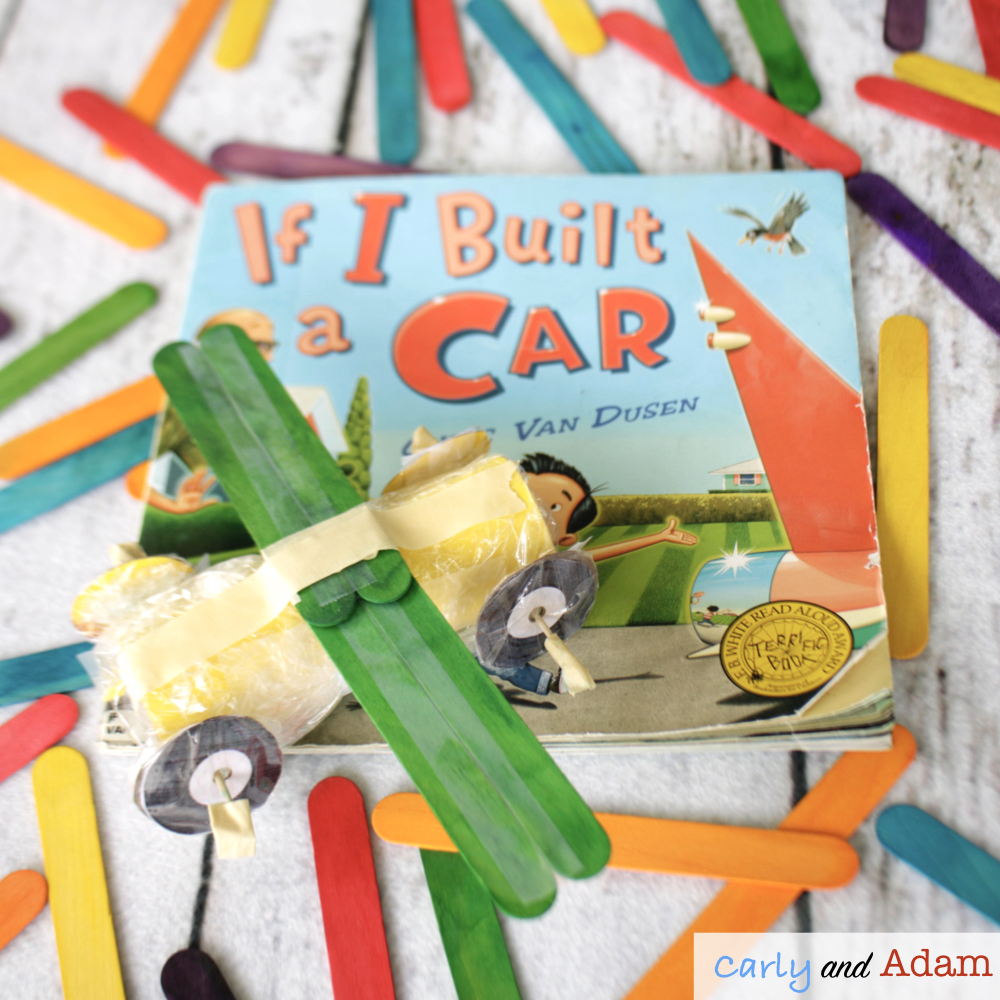 If I Built a Car STEM Challenge