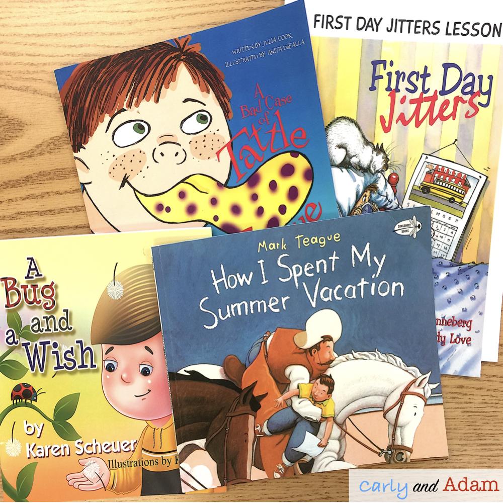 First Week of School Read Alouds