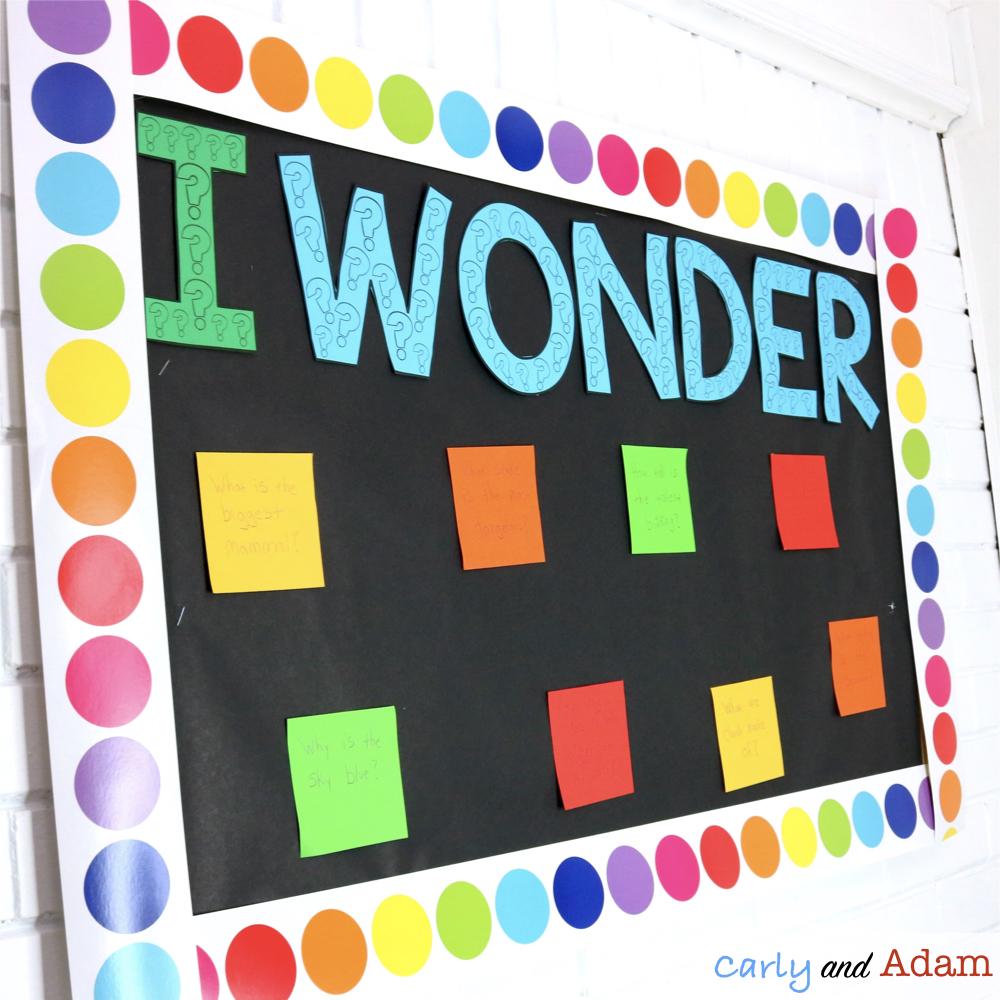 Wonder Wall Classroom Display