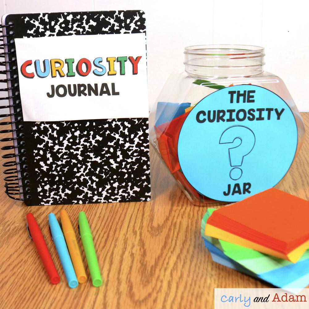 Wonder Wall, Curiosity Jar and Curiosity Journal