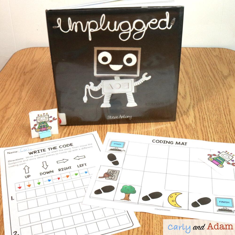 Unplugged Story Retelling Coding Activity