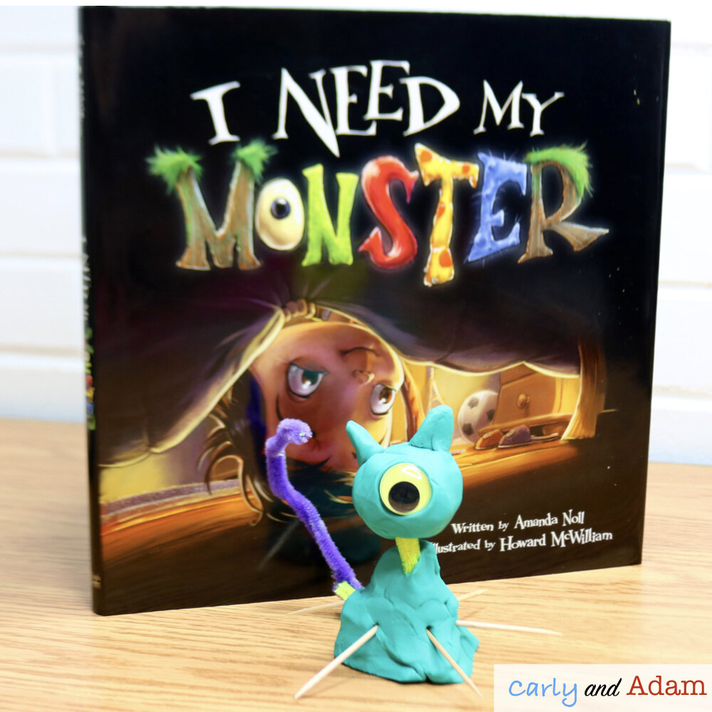 I Need My Monster STEM Challenge