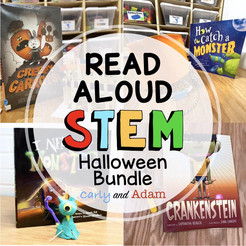 Halloween Read Aloud STEM Challenges
