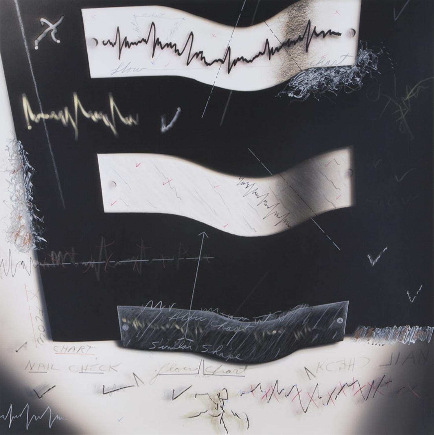 """Flow Chart #9"", 1979, 18""x18"""