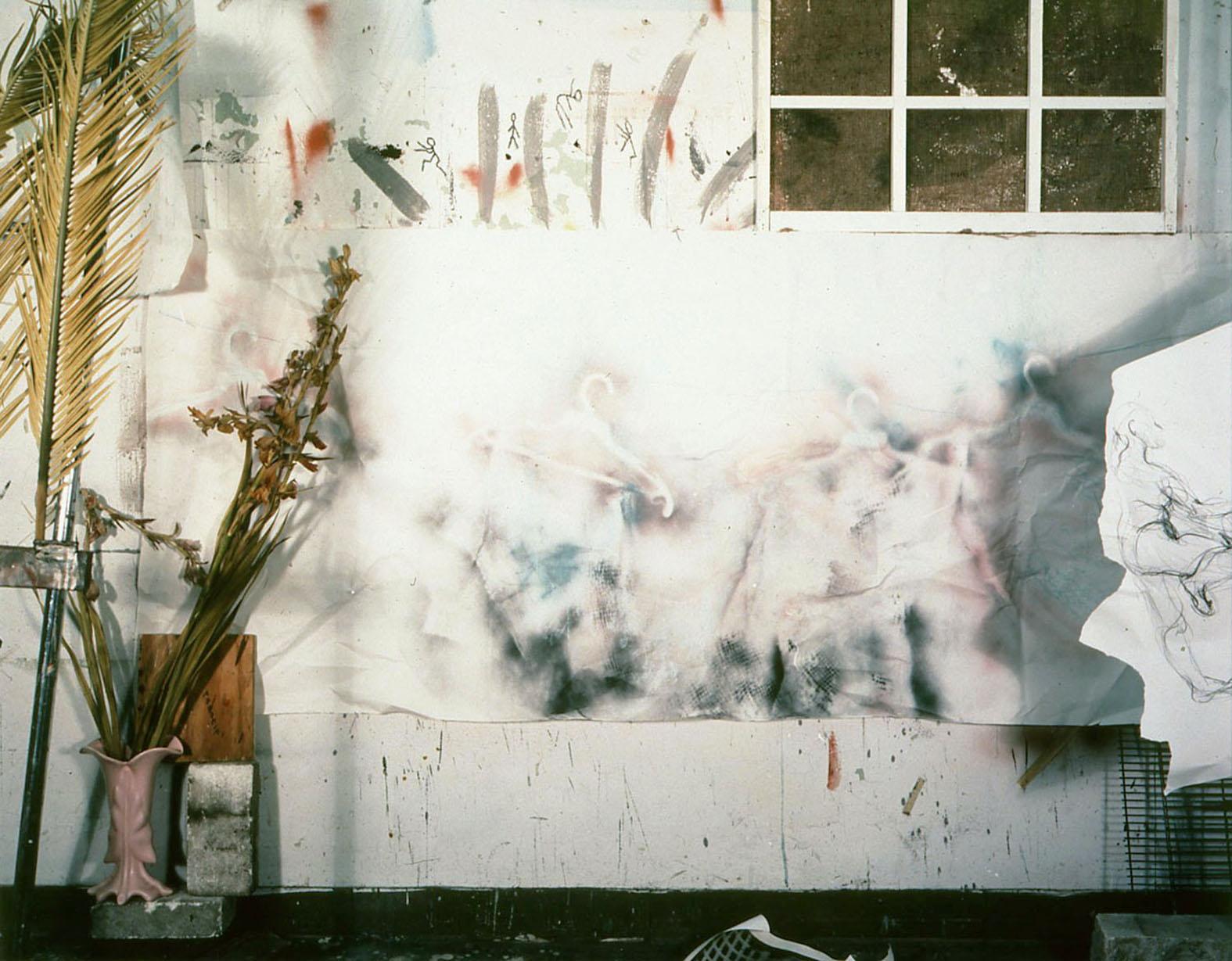 """""""Studio A Series"""", 1983, 8x10 color contact print"""