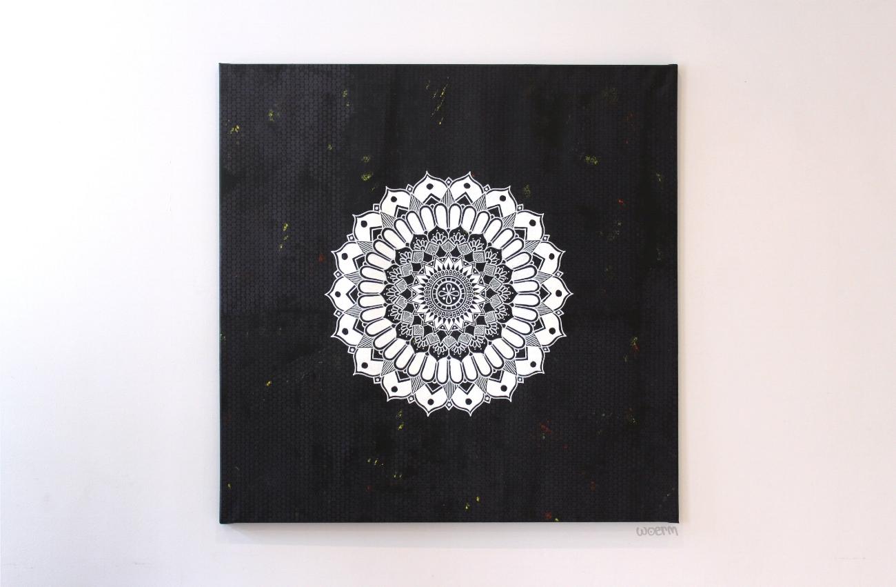 100x100cm Acrylic on canvas
