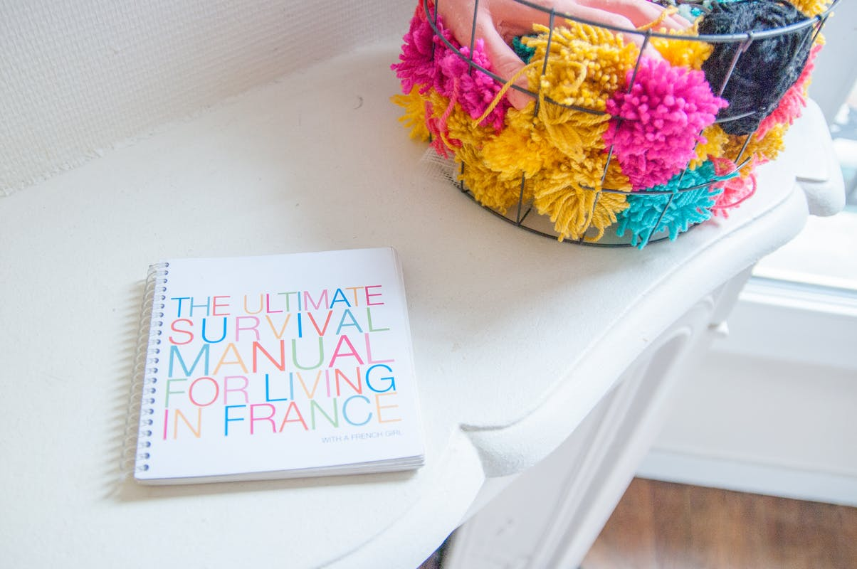 ©Morgan Schemel / This is a little fun book that I made for my partner when we moved in Paris together