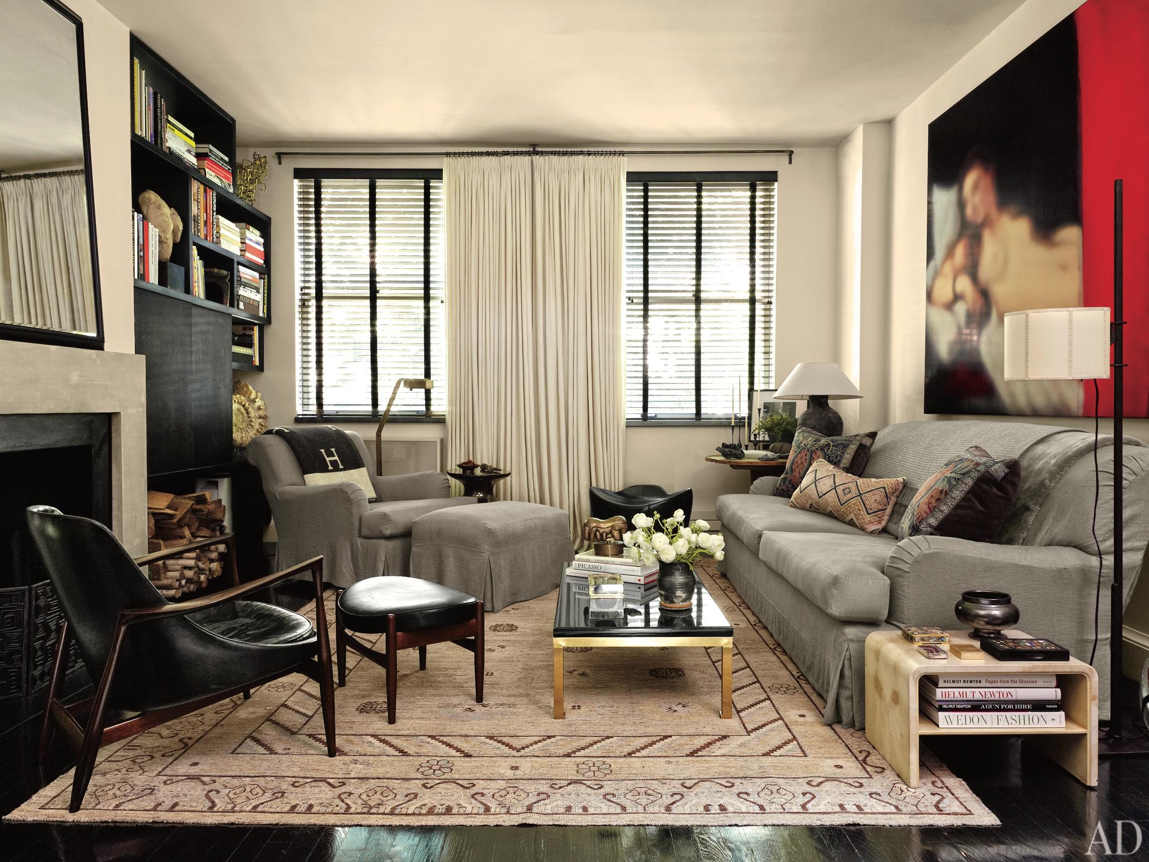 Guido Palau apartment, West 22nd St. NYC  Design: Robert Passal