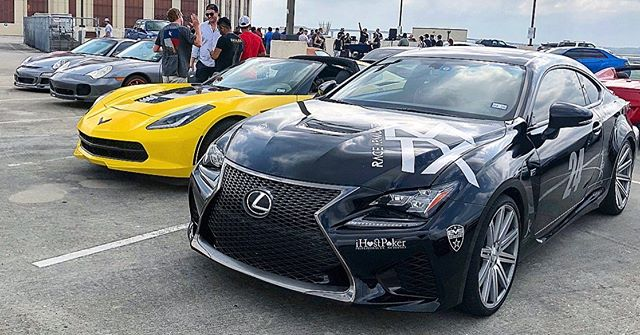 We've now had our Lexus RC F a full year! Put 15,000 miles on it, done two rallies, modified it quite a bit, and am ready to change the color. Perhaps a Miami Blue or Matte Purple Wrap? Decisions decisions once these stickers go off... also hopefully a tune towards the end of the year when the warranty goes out. The car isn't going anywhere, not much I can replace it with that is reliable, has four seats, a V8, a stunning leather interior design (have to see in person), and is ultra comfortable on road trips 😎