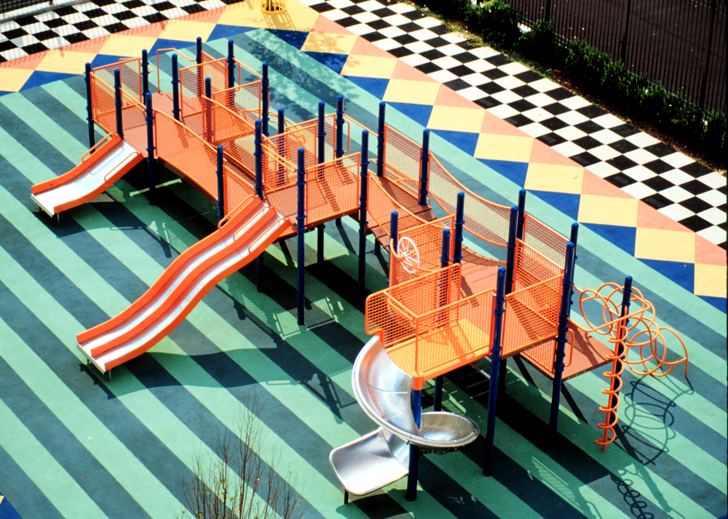 Vintage 1980s PipeLine playground by Columbia Cascade.  Ready for a comeback?