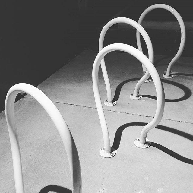 CycLoops Twist shadows at night.