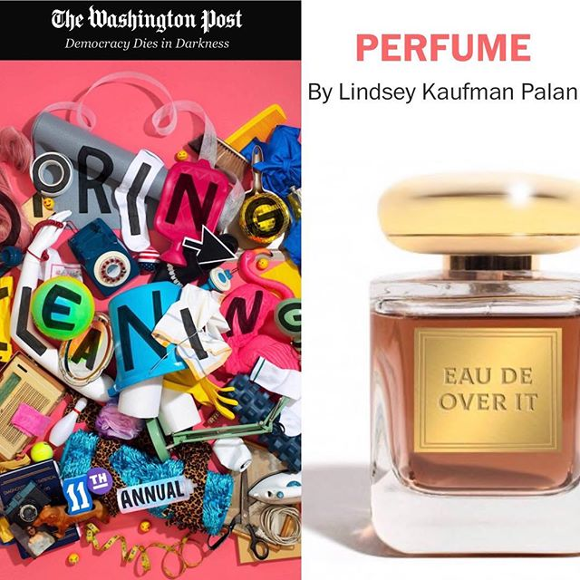 I like you, but I hate your #perfume. Thanks to brilliant editor @adambkushner and @washingtonpost for featuring me again in this year's #springcleaning. {link in bio}