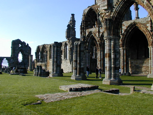 Whitby Abbey from  Wikimedia Commons .