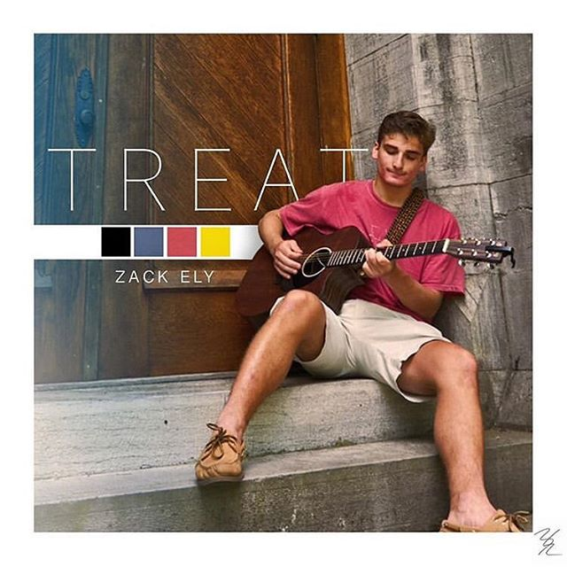 Zack's second single is out today! Go check out Treat on all major streaming platforms.