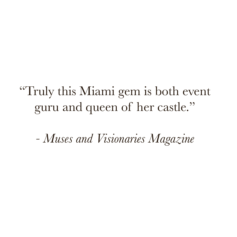 Luxe Fete Client Miami Event Planner