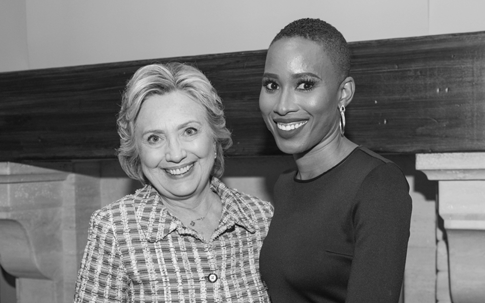 nathalie+and+Hillary+Clinton+in+BW.jpg