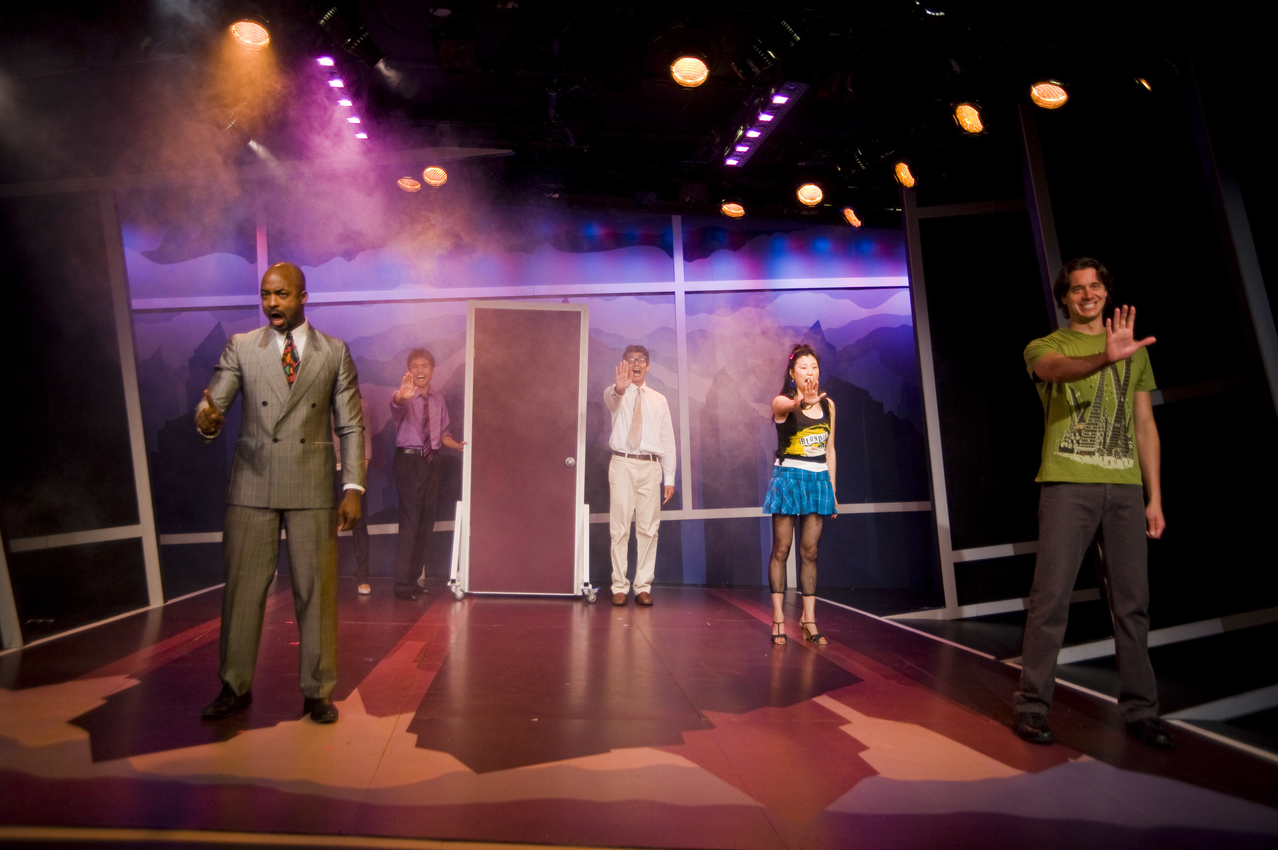 2008 Barrington Stage Company workshop-production, dir. Andrew Volkoff. Starring Terence Archie, Heath Calvert, Nathaniel P. Claridad, Deborah S. Craig, Greta Lee, and JP Moraga.