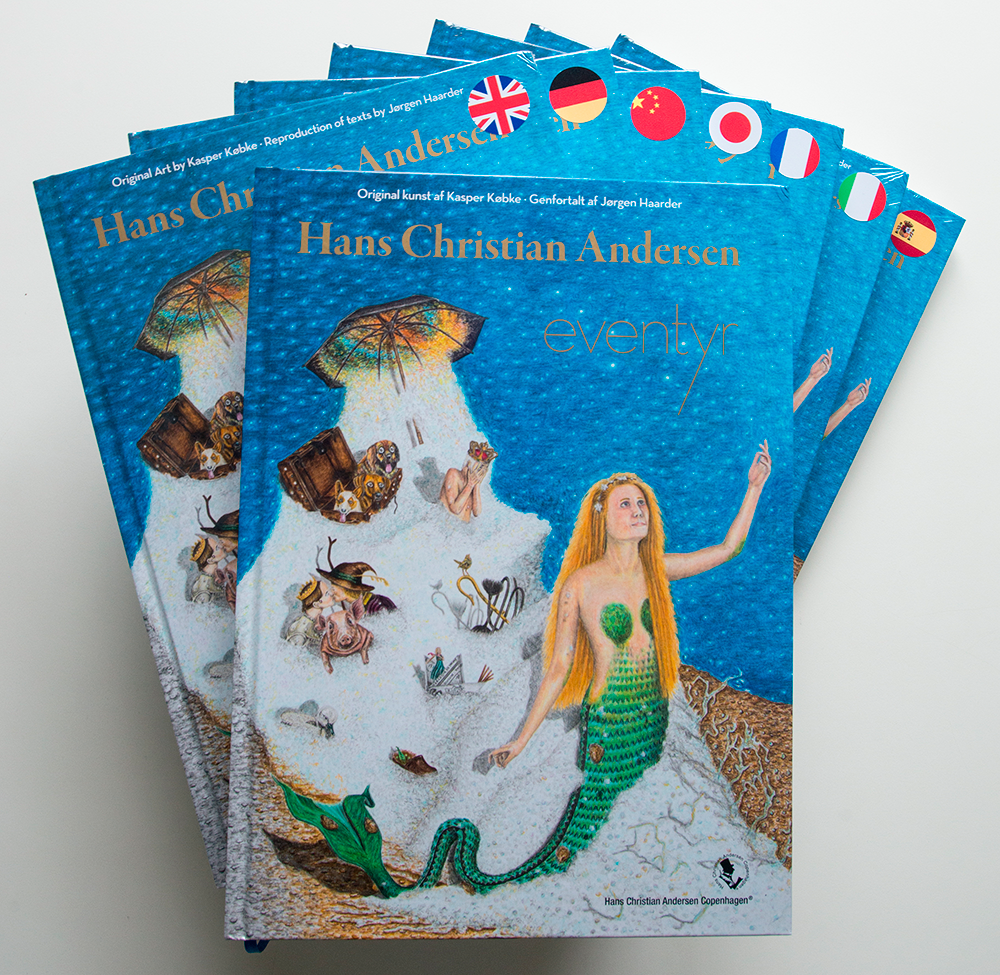 Hans Christian Andersen Fairytales in 8 languages